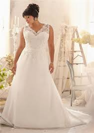 wedding dresses plus size a line v neck organza lace plus size wedding dress corset back