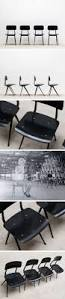friso kramer 4 black result chairs ahrend de cirkel industrial