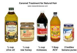 i tried a diy caramel moisture treatment on my type 4 natural hair