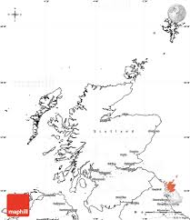 Map Of The World Blank by Blank Simple Map Of Scotland