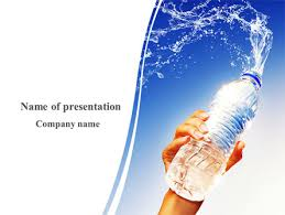 Water Powerpoint Templates by Mineral Water Powerpoint Template Backgrounds 08260