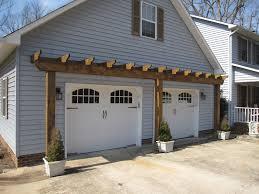 Building Awning Over Door Vinyl Arbor Over Garage Door Landscape Design Pinterest