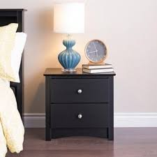 Modern Black Nightstand Best 25 Black Nightstand Ideas On Pinterest Black Bedroom