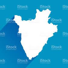 Burundi Africa Map by Blue Burundi Map Icon Stock Vector Art 468704844 Istock