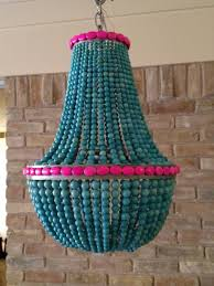 turquoise beaded chandelier turquoise beaded chandelier amanda nisbet lighting