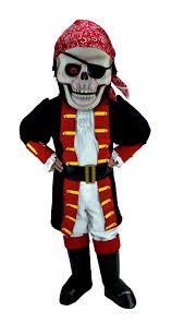 Halloween Mascot Costumes Buy Skull Pirate Mascot Halloween Costume T0273 Mask