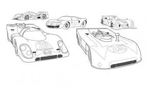 gulf car racing coloring pages free cars coloring pages