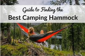 best camping hammocks ultimate buying guide u0026 reviews 2017