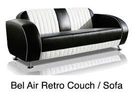 Retro Sofa Bed Route 66 Store Belair Diner And Retro Furniture