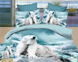 Wolf Bed Sets 3d Bedding Sets High Quality 100 Cotton 4pcs Wolf Bedding