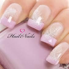40 feather nail art ideas feather nail art feather nails and
