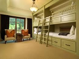 space saver bunk bedroom rustic with alpine luxury wooden