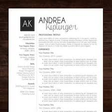 Teacher Resume Samples In Word Format by Modern Resume Template For Word And Pages 1 2 U0026 3 Page Resumes