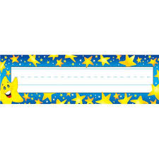 Desk Name Tags by Super Stars Desk Toppers Name Plates