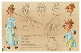 Pokemon Hantei - character sheet commission by violetky on deviantart
