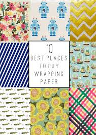 tell the 10 best places to buy wrapping paper home to