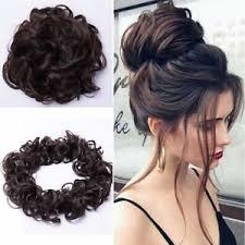bun scrunchie us curly bun hair scrunchie updo cover hair extensions