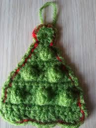 free crochet christmas tree pattern christmas lights decoration