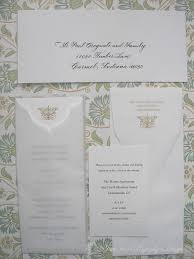 vera wang wedding invitations wedding calligraphy by farr vera wang embossed wedding