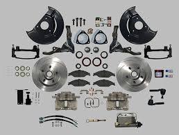 66 mustang power steering sn95 dual piston aluminum caliper manual disc brake kit manual