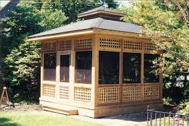 Screened In Patio Designs by How To Screened In Gazebo U2014 Home Design Ideas