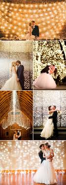 wedding backdrop ideas 39 magical string and hanging light wedding decorations and