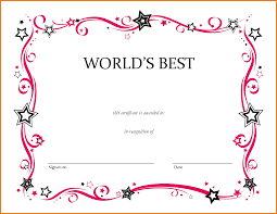blank award certificate template 420894 png scope of work template