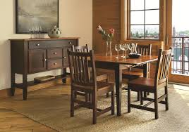 l j gascho furniture saber transitional dining server table