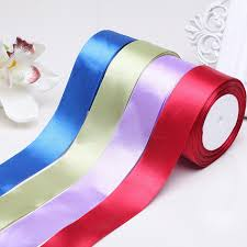 wide ribbon wholesale 50mm wide decorative satin ribbon for gift packing with