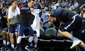 basketball bench celebrations forget the game how bench celebrations stole the show in college