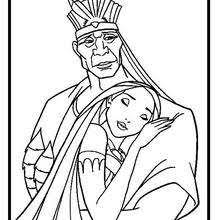 pocahontas coloring pages 15 free disney printables kids