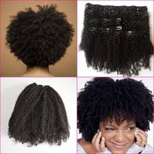 Hair Extension Clip Ins Cheap by 3c 4a 4b 4c Afro Curly Clip In Human Hair Extensions Virgin