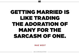 8 marriage quotes from the greatest wits of all