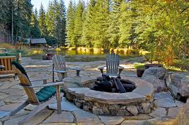 Landscape Fire Pits by Outdoor Fireplaces Outdoor Fire Pits Designscapes Colorado