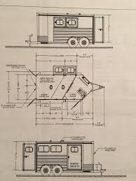 horse trailer living quarter floor plans cimarron trailers horse pro trailers