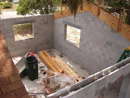 how to build a concrete block house tie beams for cmu walls windows dream home pinterest beams