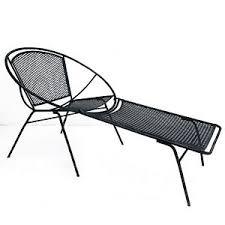 Modern Patio Lounge Chair Salterini Hoop Chaise Lounge Chair Mid Century Modern Patio