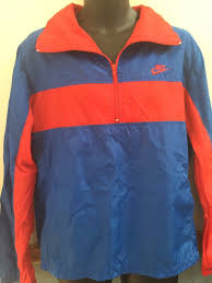 nike windbreaker nike windbreaker lightweight jacket pullover vintage 90s blue red