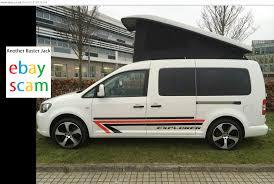 ebay scam volkswagen caddy 4 berth maxi lwb campervan pj60yjx