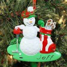 personalized golf ornaments giftsforyounow