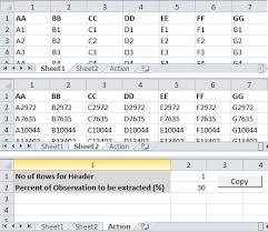randomly select a certain rows entirely from one worksheet into