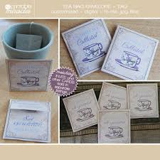 tea bag party favors tea bag favors vintage printable tea bag from myprintablemiracle