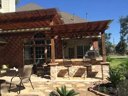 Fire Pit Pizza - houston firepit two tier pergola u0026 outdoor kitchen with pizza
