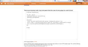 joomla 2 5 x joomla 3 x how to add google analytics tracking code