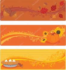 thanksgiving banners stock vector jui39 3452924