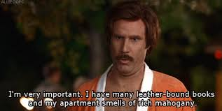 Ron Burgundy Meme - books will ferrell gif by bloodshaper find download on gifer
