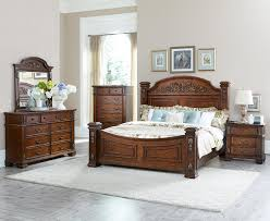 Badcock Bedroom Furniture Sets Homelegance Donata Falls Bedroom Set Warm Brown 1800 Bed Set