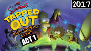 kc plays the simpsons tapped out halloween event 1 2017