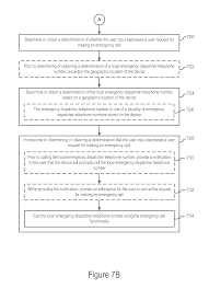 us9300784b2 system and method for emergency calls initiated by