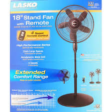 holmes metal stand fan lasko 18 stand fan with remote control black walmart com